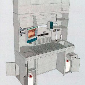 Estación de tallado Vogel A-ED-1000