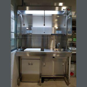 Estación de tallado Vogel UCSA-1300 para 1 Usuario