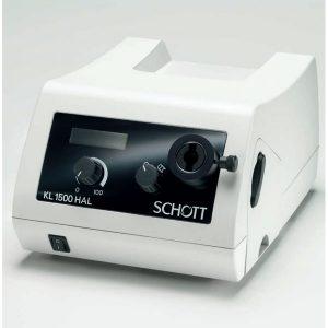 Iluminador de luz fría por fibra óptica Schott KL2500 LCD