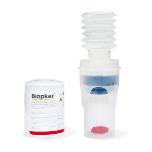 Contenedores seguros para muestras de biopsia