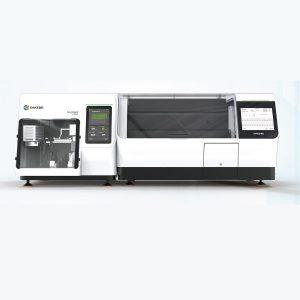 Teñidor de portaobjetos DP360 + montador de cubreobjetos CS500 Dakewe